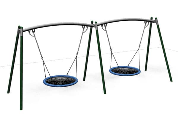Flying Saucer – Double Frame - 2 x 1200mm Baskets