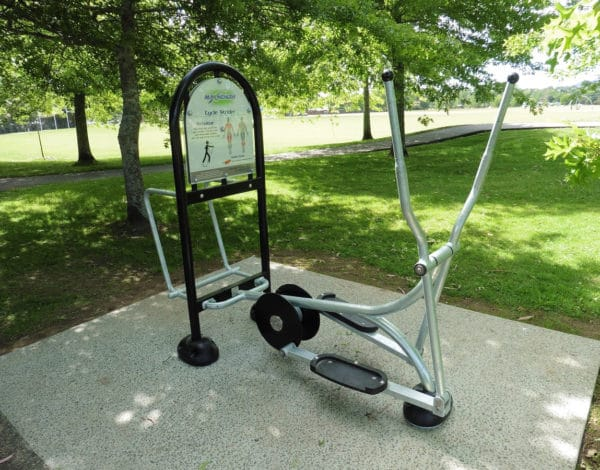 Max Health Gym Duo Station 815 Cycle Strider & 816 Stretching Station