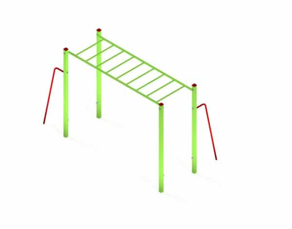Monkey Bars Fitness Station