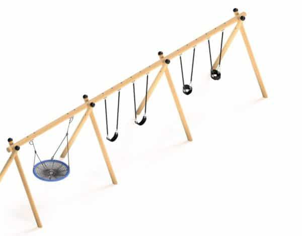 Flying Saucer - Timba Triple Frame