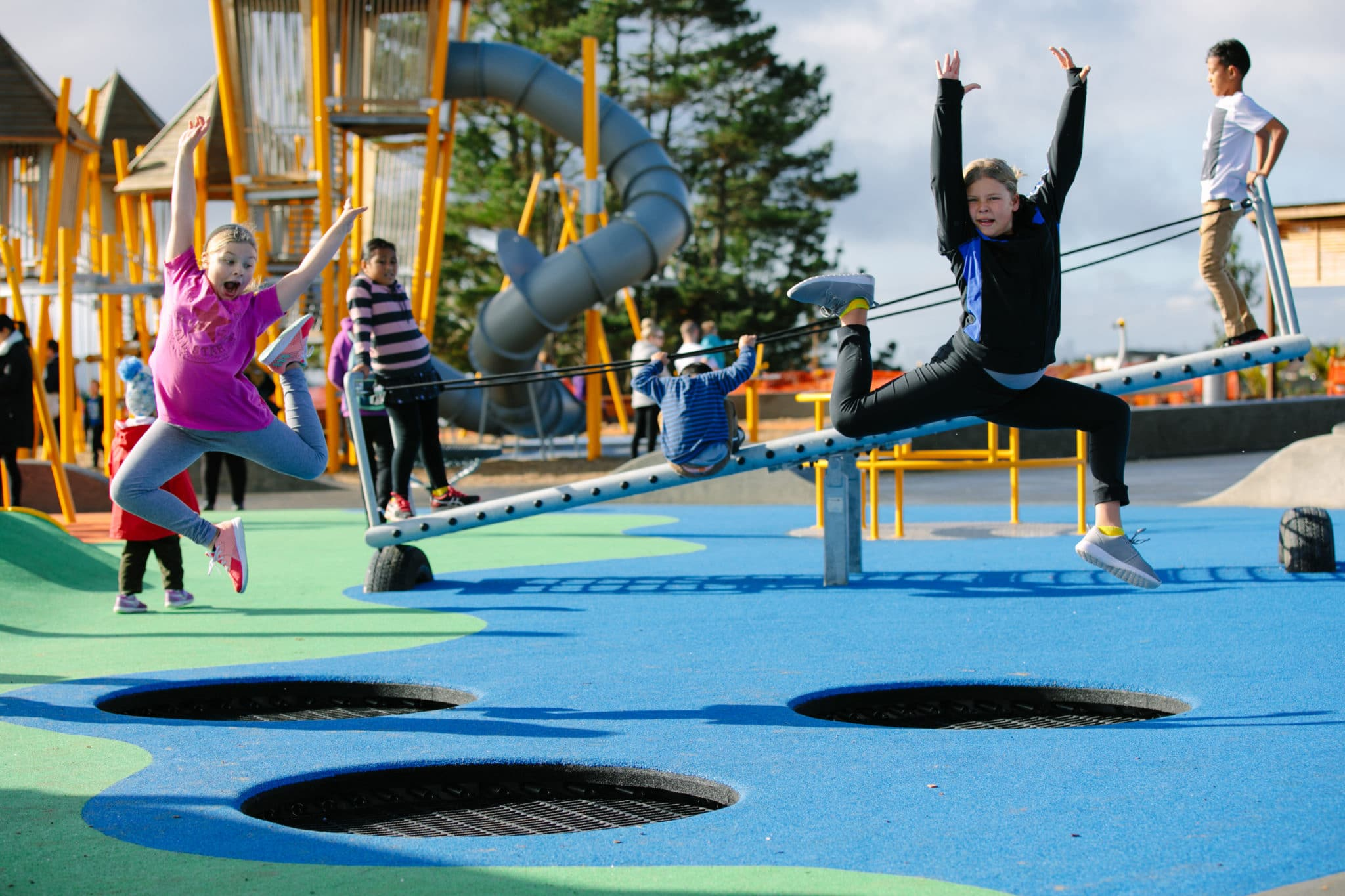 Trampoline Pi Outdoor Trampoline Playground Centre