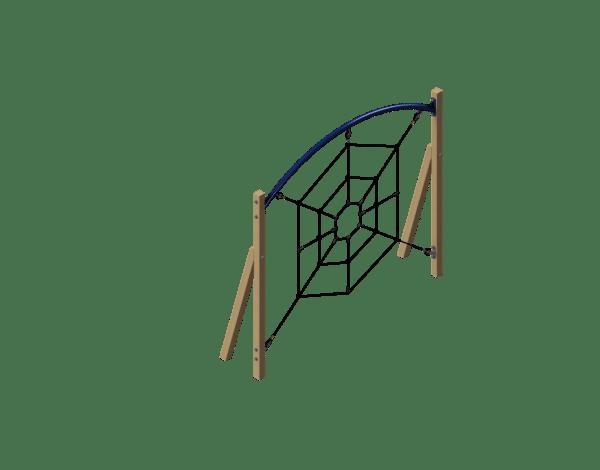 Spider Web Fitness Station
