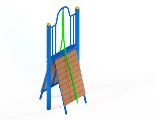 Double Scaling Wall Fitness Station