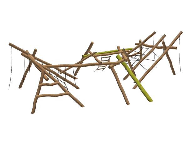 Wobbly Wood Crona Climbing Unit
