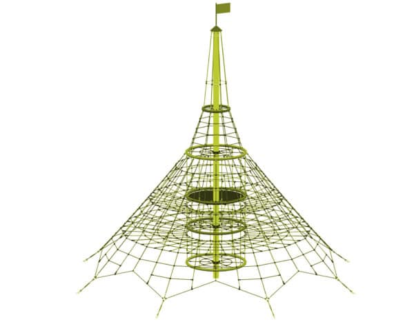 8.15M Dino XXL Rope Net Tower