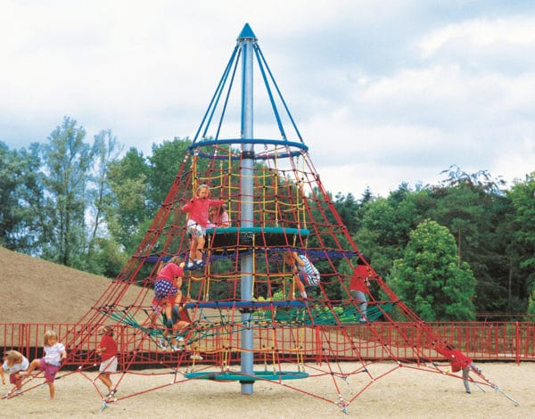 6.5M Dino 1 Rope Net Tower