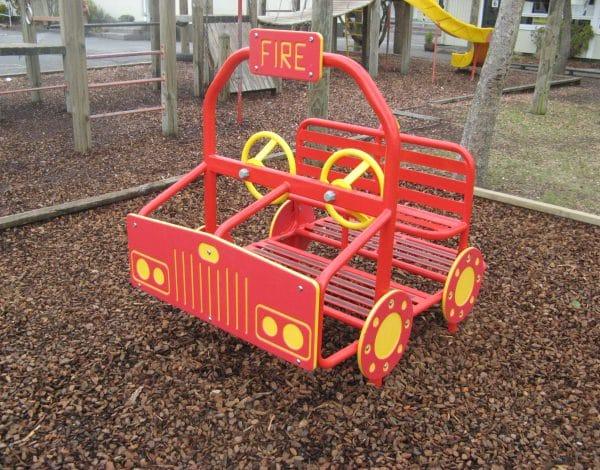 Dual Steer Fire Truck