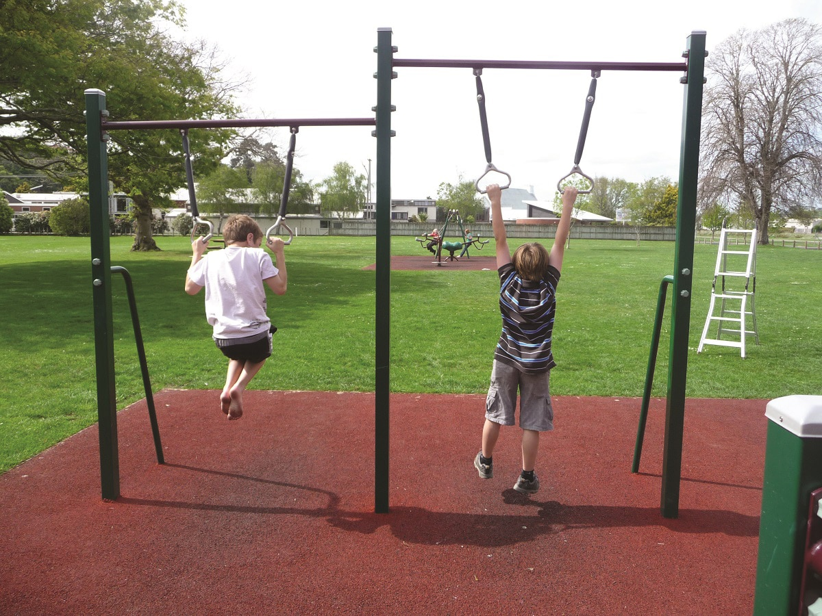 Gym Rings Fitness Station - Playground Centre