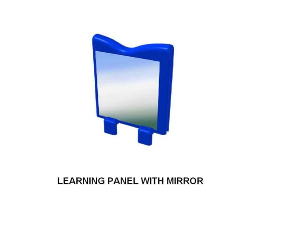 Young Explorers - Learning Panel with Mirror