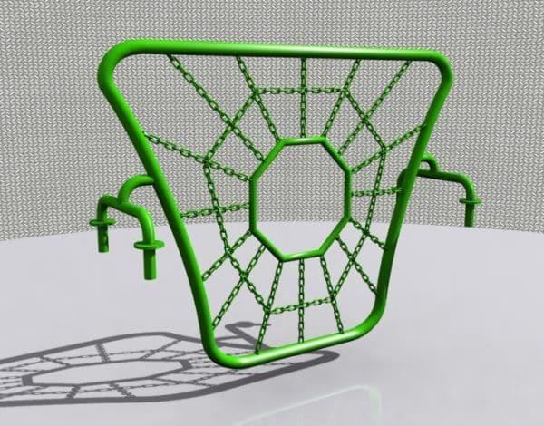 Bambino Spider Web Climber Wall