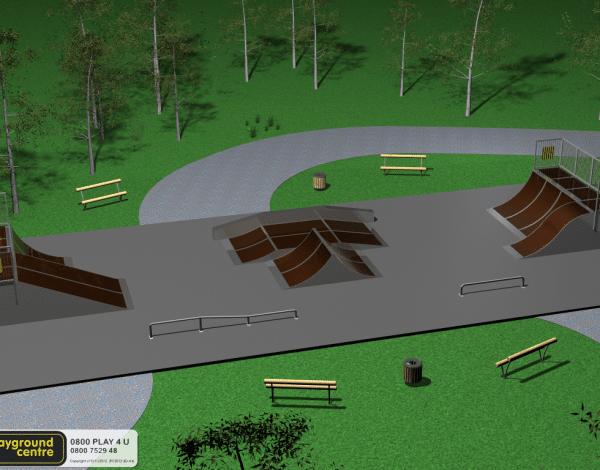 Skate Park A4