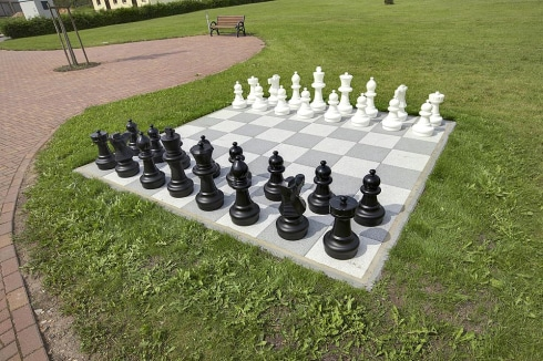 Chess board & pieces