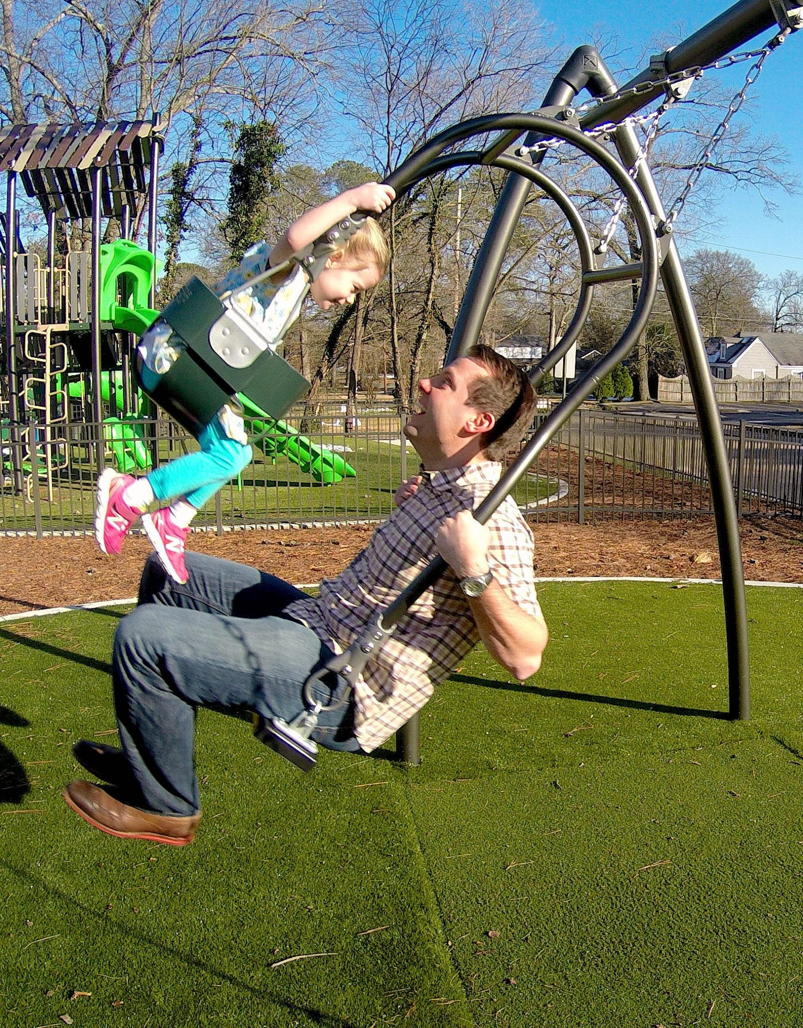 Expression Swing Seat Playground Centre
