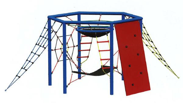 2.3M Maxi Hexagon Climbing Castle 4587-21