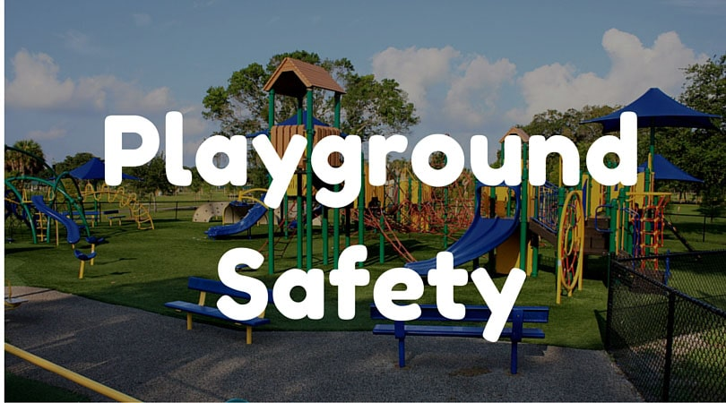 The importance of playground safety