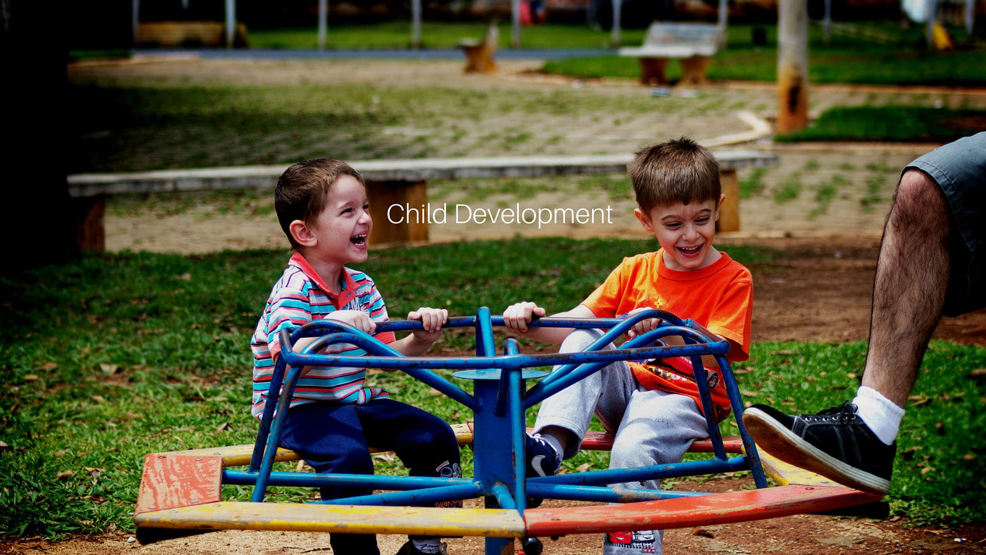 How playground equipment helps child development