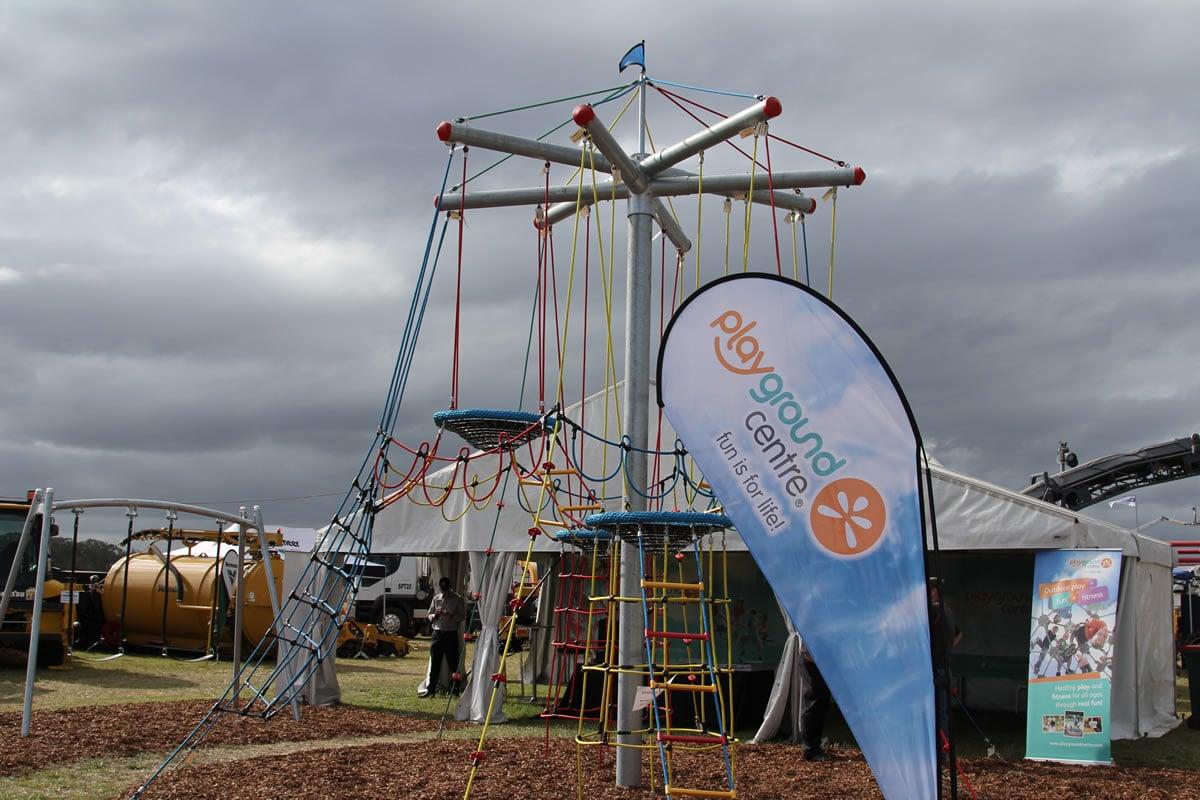 Playground Centre spread the fun at LOGOV/CIVENEX-Q
