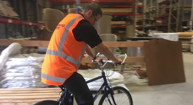 Cycling to a happy, healthy workplace!
