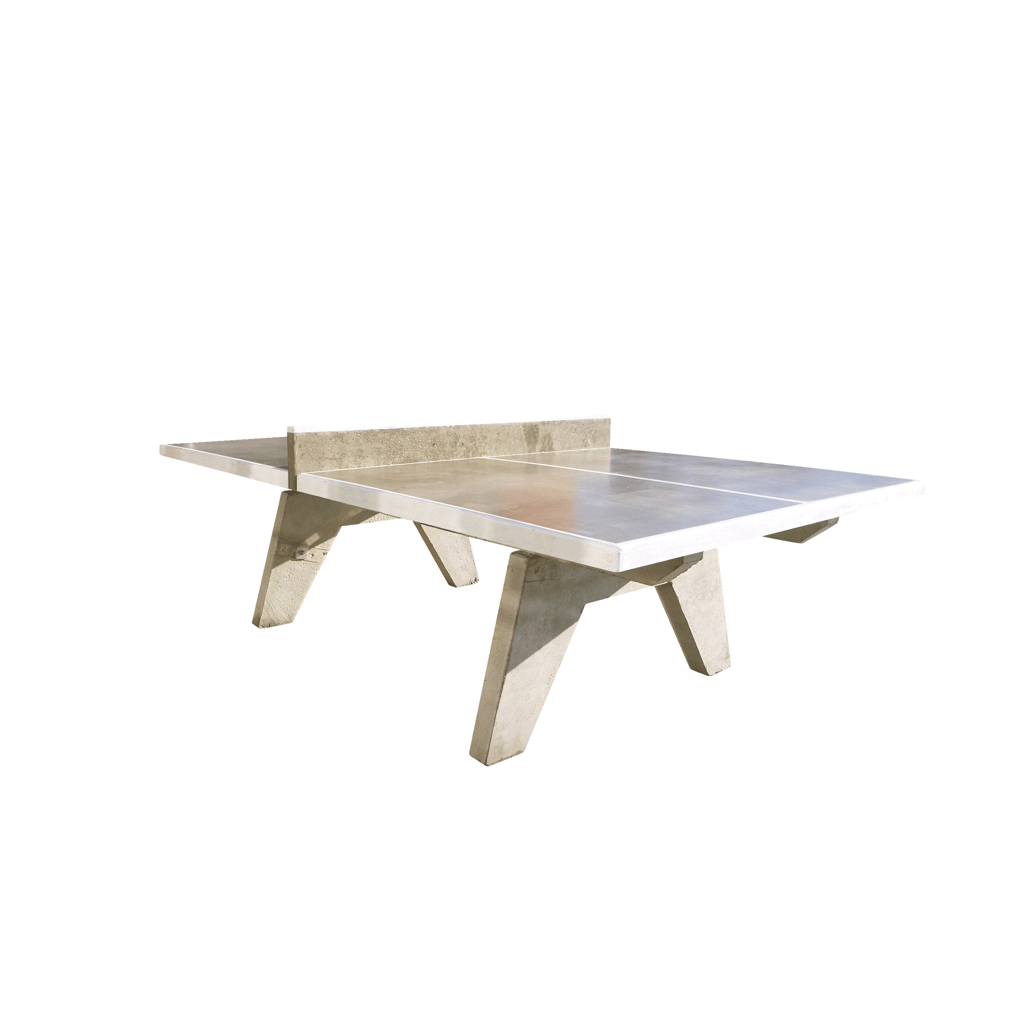 Concrete Table Tennis Table College Model Playground