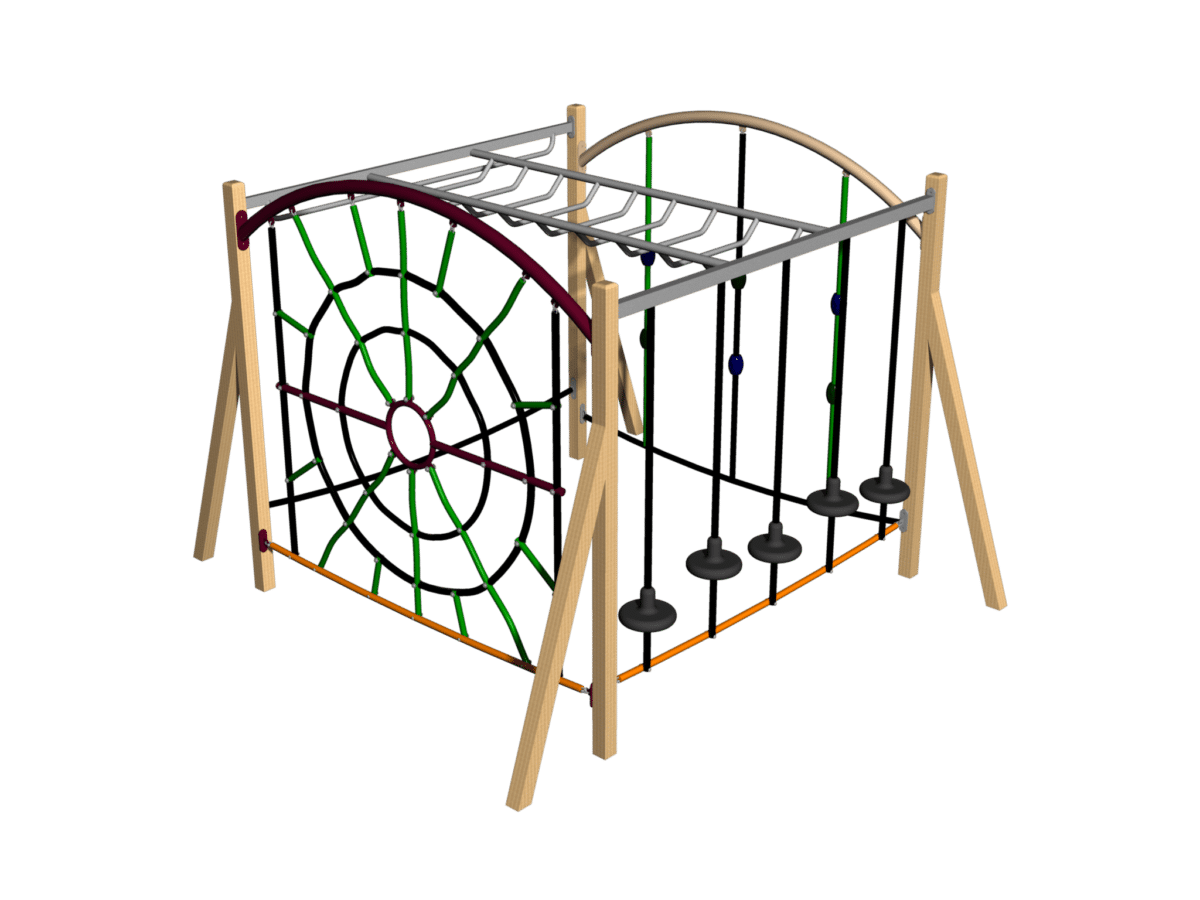 Jungle Cube 440 (timber and metal versions)