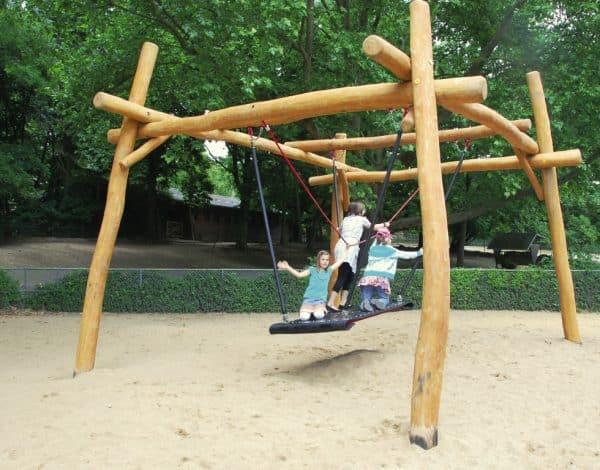 Wobbly Wood Flying Carpet Swing