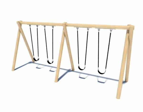 4-Bay Timba Mega Swing