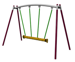 Trio Rope Swing - Steel Frame