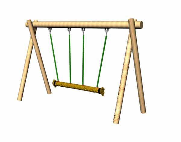 Trio Rope Swing - Timba Frame