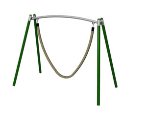 Jungle Rope Swing - Steel Frame