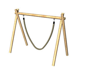 Jungle Rope Swing - Timba Frame