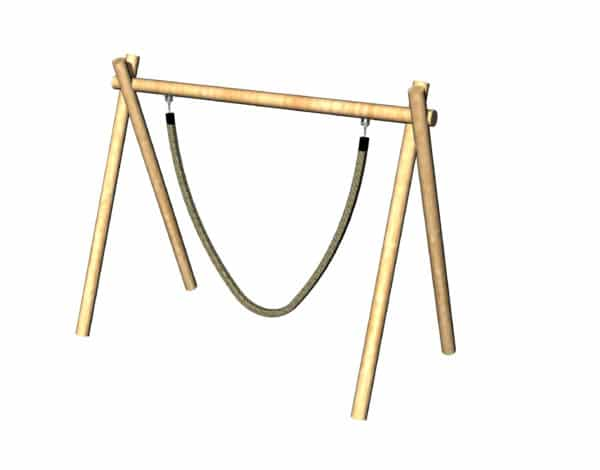 Jungle Rope Swing - Timba Frame