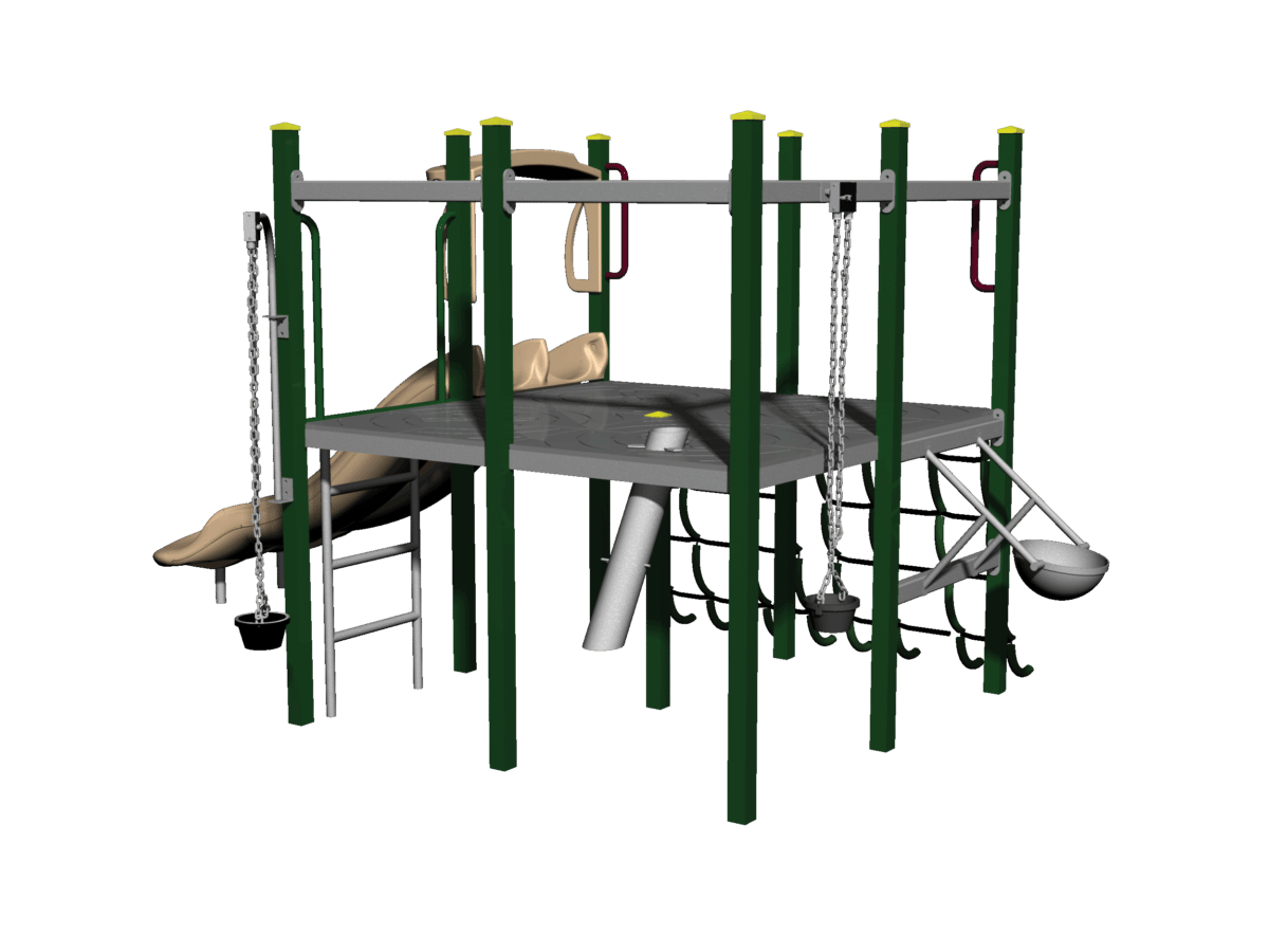 Sand Play 221 Module (timber and metal versions)