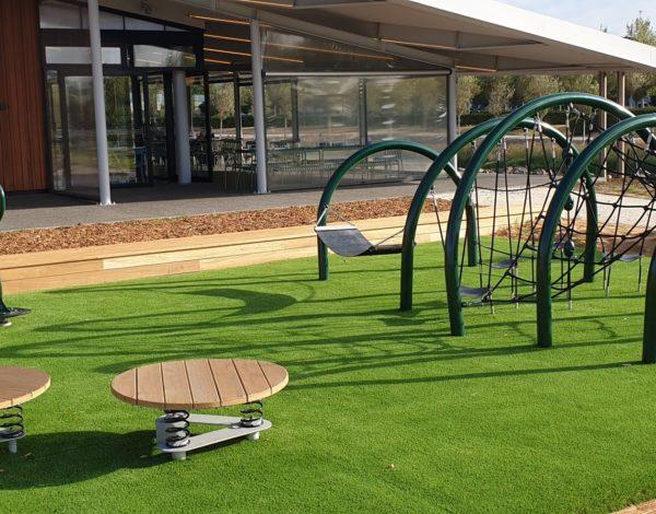 Playground Jumping Jacks Platforms