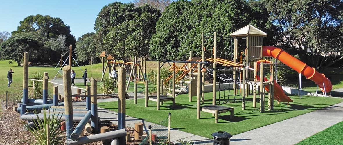Back to nature: Using timber to create a natural, greener playground