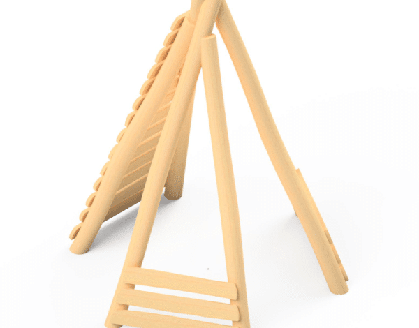 Wobbly Wood Teepee