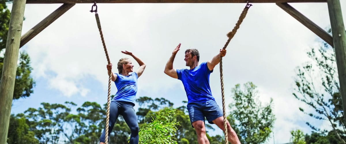 Outdoor fitness trend creates a sense of belonging
