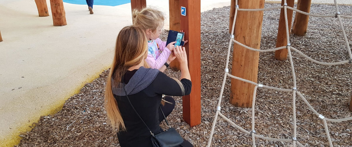 Australia's first 'smart playground' is winning parents, kids and awards