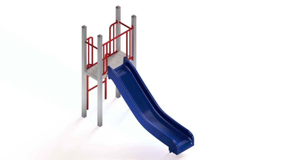 Playground Slide Unit