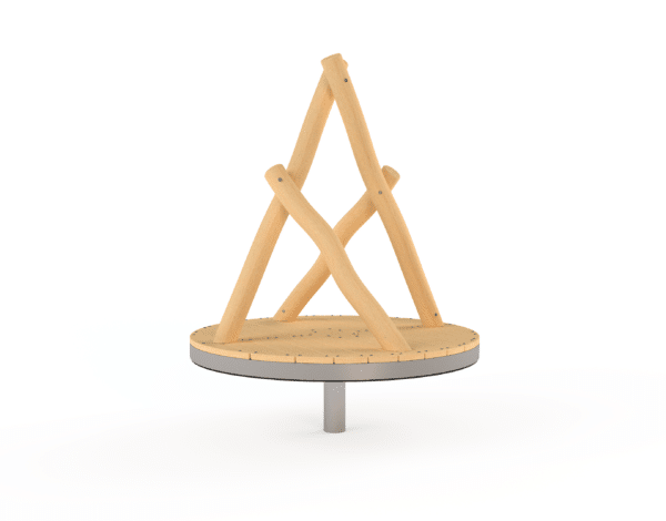Wobbly Wood Family Carousel